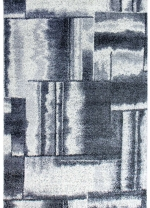[Kusový koberec Lunar 4248A White/Grey]