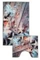 [Predložka do kúpeľne 3D - morské lastúry - 850/085]