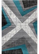 [Kusový koberec Warner 1180A Blue]