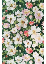 [Predložka do kuchyne 3D - kvety 3030/110]