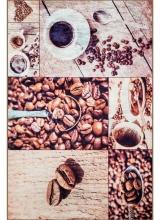 [Predložka do kuchyne 3D - kávové zrnká 3030/108 ]