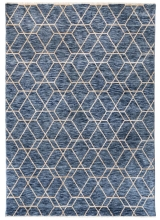 [Kusový koberec Palazzo 6958A Ivory/Dark blue]