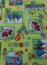 [Detský metrážny koberec Eralash 861]