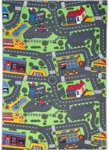 [Detský kusový koberec Road - City Life]