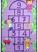 [Detský kusový koberec Škôlka Purple 941]