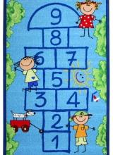 [Detský kusový koberec Škôlka Blue 951]
