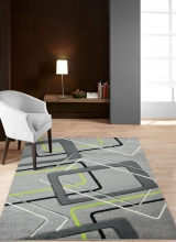 [Kusový koberec Rumba 7826B Grey Green]