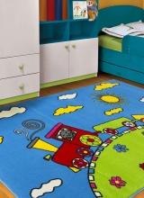 [Detský kusový koberec BABY 1021 A Turkuaz]