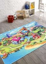 [Detský kusový koberec Fairytale 7588-24 ]