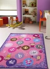 [Detský kusový koberec Twister 933 Fialový veľký]