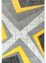 [Kusový koberec Warner 1180A Yellow]