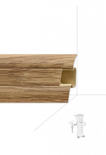Podlahová lišta ARBITON LM 55 - Dub Klasický Svetlý č. 67