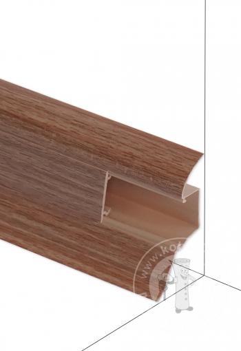 Podlahová lišta DOLLKEN W140 Orech Prírodný