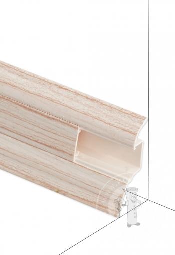 Podlahová lišta DOLLKEN W165 Javor svetlý