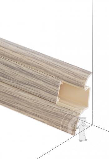 Podlahová lišta DOLLKEN W166 Dub Vintage