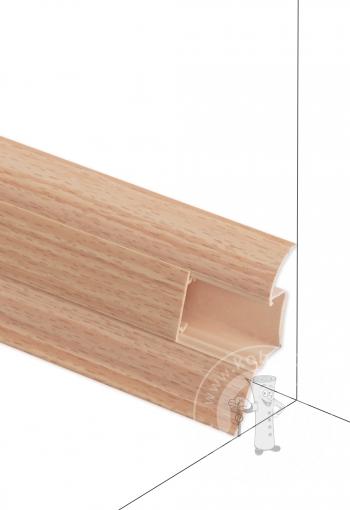 Podlahová lišta DOLLKEN W169 Buk