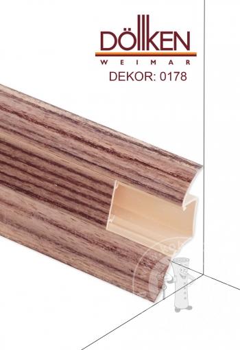Podlahová lišta DOLLKEN W178 Zebra
