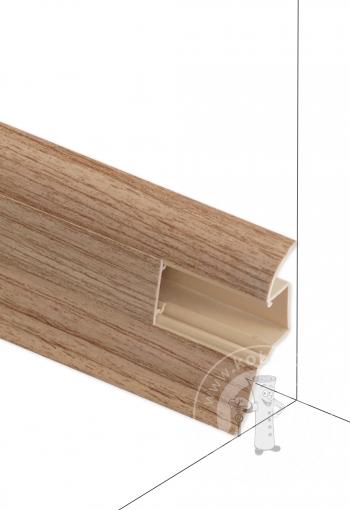 Podlahová lišta DOLLKEN W180 Dub Zlatý