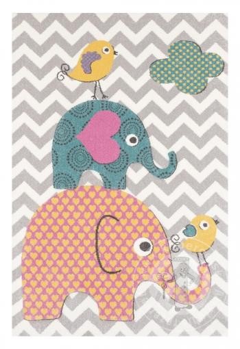 Detský kusový koberec Pastel Kids 48/SVS