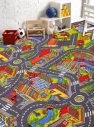 [Detský metrážny koberec SMART CITY]