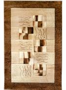 [Kusový koberec Mango 3756 Brown Beige]