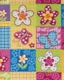 [Detský metrážny koberec Butterfly 57]