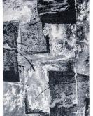 [Kusový koberec Lunar 4226A White/Anthracite]