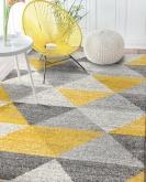 [Kusový koberec Calderon 1530A Yellow]