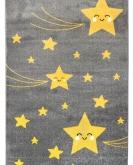 [Detský kusový koberec Playtime 0610A Yellow]